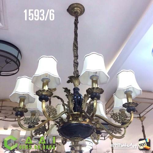 Đèn Chùm Đồng CCD-1593-6