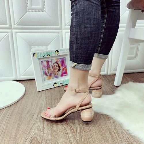 Giày sandal cao gót bản trong - 7163871 , 17042286 , 15_17042286 , 320000 , Giay-sandal-cao-got-ban-trong-15_17042286 , sendo.vn , Giày sandal cao gót bản trong