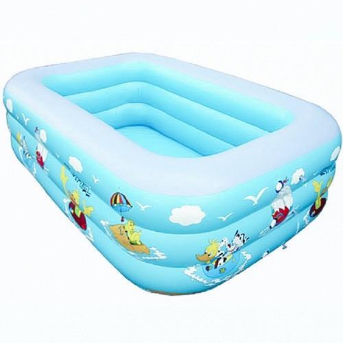 Bể bơi phao có thành cao 3 tầng cao 1m3 dành cho trẻ em