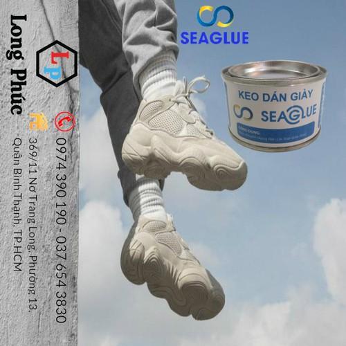 [Bão Sale] keo dán giày|Keo dán chuyên dụng SeaGlue 100gr |keo dán trong suốt, chịu nước, dính chắc