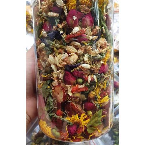 Lọ trà hoa thảo mộc