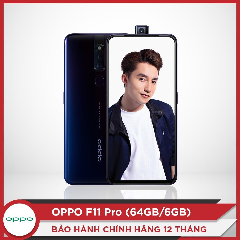 Điện thoại OPPO F11 Pro 128GB - Tặng SDP nhanh 10.000 mAh - Hàng chính hãng - CPH1969