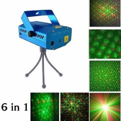 Đèn chiếu Laser sân khấu cảm ứng theo điệu nhạc
