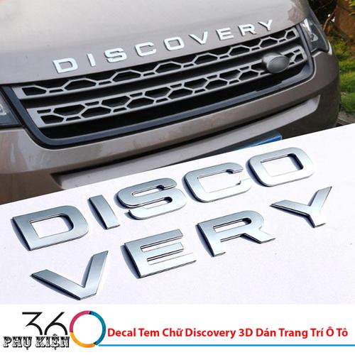 Decal Tem Chữ Discovery 3D Dán Trang Trí Ô Tô - 7143197 , 17030651 , 15_17030651 , 239000 , Decal-Tem-Chu-Discovery-3D-Dan-Trang-Tri-O-To-15_17030651 , sendo.vn , Decal Tem Chữ Discovery 3D Dán Trang Trí Ô Tô