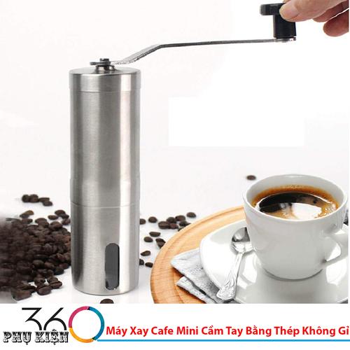 Máy Xay Cafe Mini Cầm Tay Bằng Thép Không Gỉ - 7157340 , 17039136 , 15_17039136 , 269000 , May-Xay-Cafe-Mini-Cam-Tay-Bang-Thep-Khong-Gi-15_17039136 , sendo.vn , Máy Xay Cafe Mini Cầm Tay Bằng Thép Không Gỉ