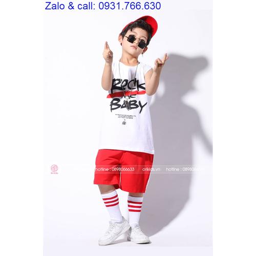 Bộ quần áo hiphop - Quần áo thể thao cao cấp cho bé - 7157209 , 17038955 , 15_17038955 , 516000 , Bo-quan-ao-hiphop-Quan-ao-the-thao-cao-cap-cho-be-15_17038955 , sendo.vn , Bộ quần áo hiphop - Quần áo thể thao cao cấp cho bé