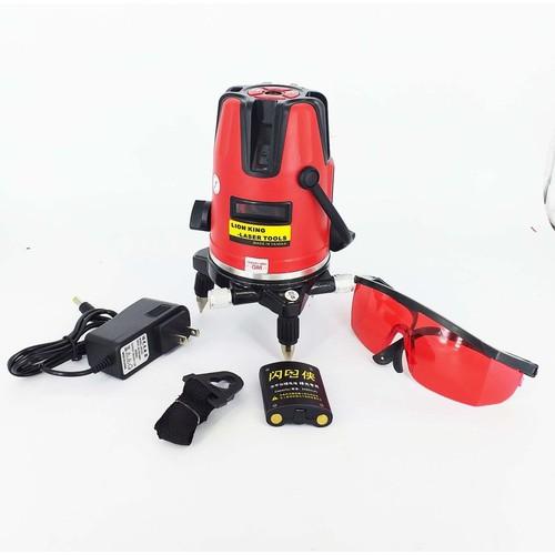 Máy cân mực laser 5 tia đỏ LionKing