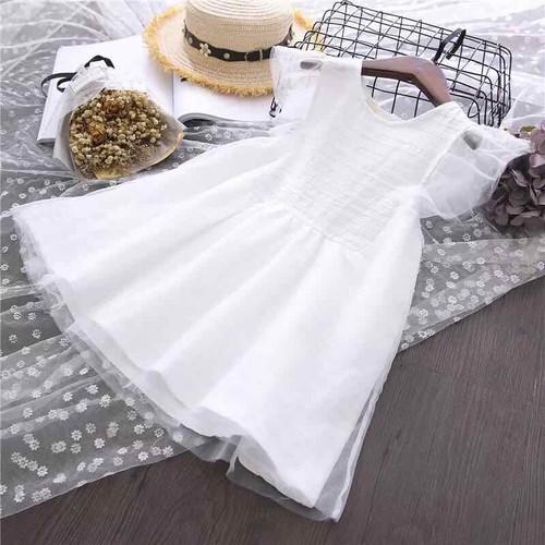 Váy bé gái cô dâu