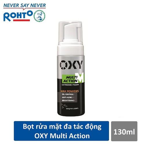 Bọt rửa mặt đa tác động dành cho Nam Oxy Multi Action 130ml - 7163484 , 17042061 , 15_17042061 , 70000 , Bot-rua-mat-da-tac-dong-danh-cho-Nam-Oxy-Multi-Action-130ml-15_17042061 , sendo.vn , Bọt rửa mặt đa tác động dành cho Nam Oxy Multi Action 130ml