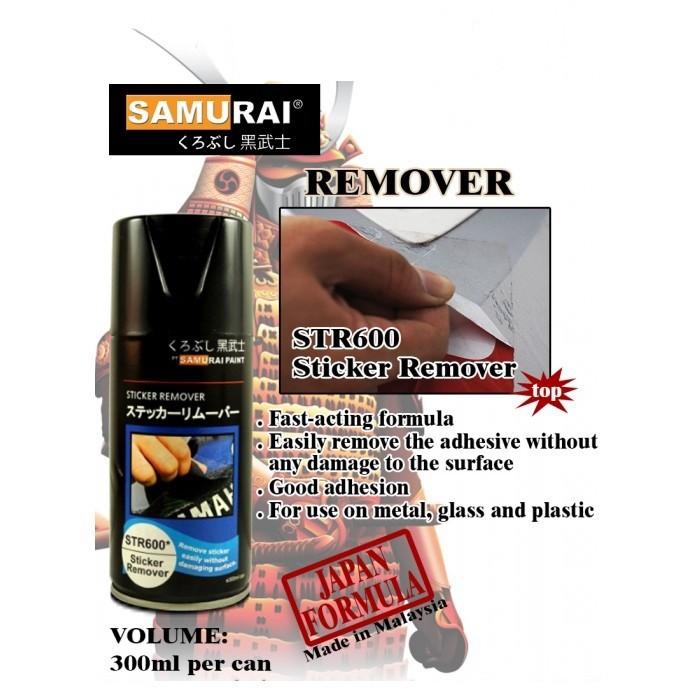 Str600 _  Chai Tåy Tem Xe Máy Samurai STR600 Tẩy Sạch Keo Dán Xe _Sticker Remover  _  Shop uy tín, giao nhanh, giá rẻ _ Best Seller - Giàu 0911199996 - www.phutunguytin.com 1