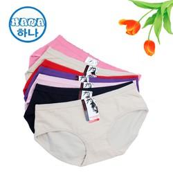 ĐƯỢC XEM HÀNG Combo 10 quần lót nữ big size vải cotton siêu đẹp nhiều màu trên 65kg