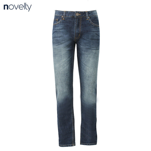 Quần Jeans dài nam Novelty ống suông NQJMMTNCSI1701170