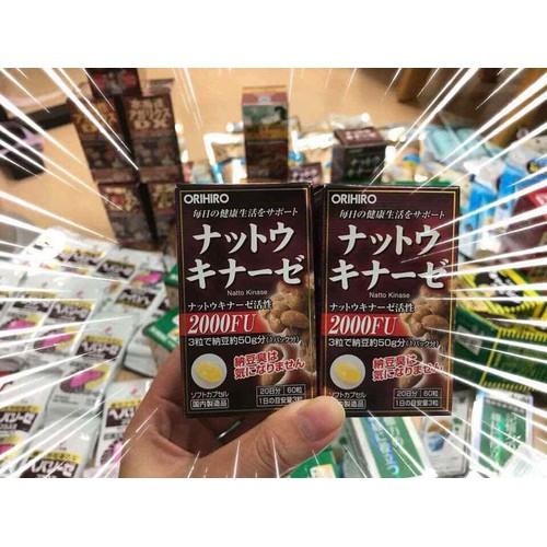 Viên uống chống đột quỵ và tai biến Nhật Bản