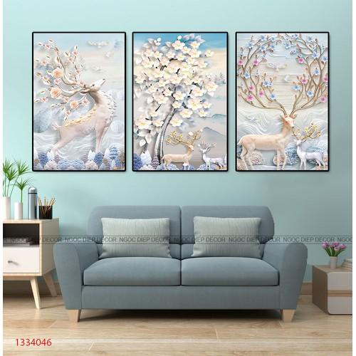 tranh treo tường - tranh nghệ thuât