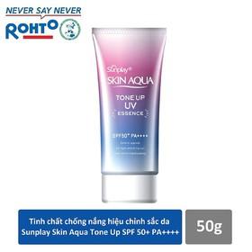 Tinh chất chống nắng hiệu chỉnh sắc da Sunplay Skin Aqua Tone Up UV Essence SPF50+ PA++++ 50g - RMV-SSA18-TU-E