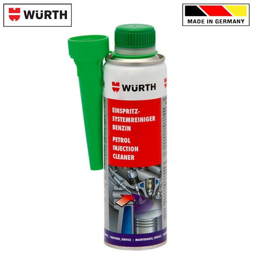 Dung môi phụ gia xăng Wurth Petrol Injection System Cleaner 300ml 5861111300