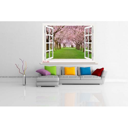 tranh treo tường - tranh cửa sổ