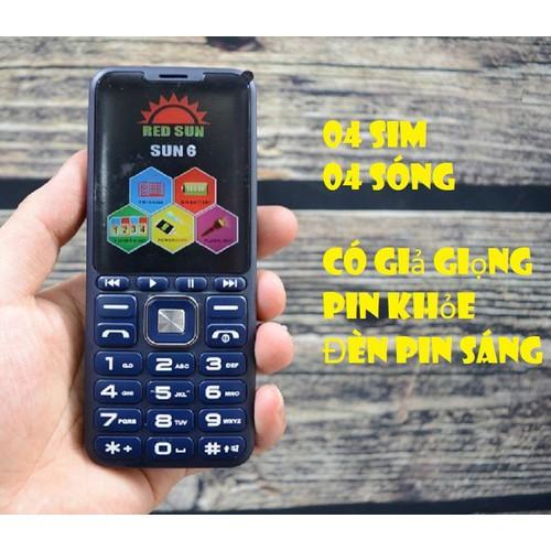 Điện thoại 4 sim