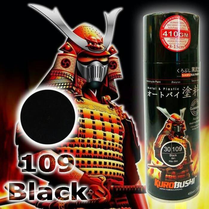 109 _ Chai sơn xịt sơn xe máy Samurai 109 màu đen bóng _ Black _ Shop uy tín, giao hàng nhanh, giá rẻ 10