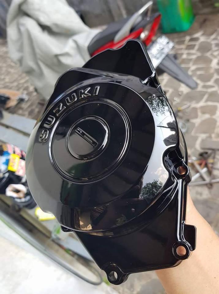 109 _ Chai sơn xịt sơn xe máy Samurai 109 màu đen bóng _ Black _ Shop uy tín, giao hàng nhanh, giá rẻ 6