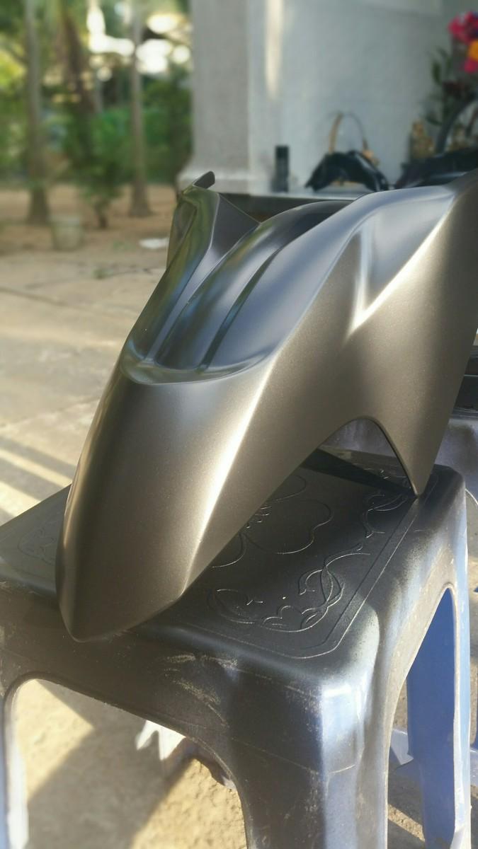 109A _ Chai sơn xịt sơn xe máy Samurai 109A màu đen nhám _ Flat Black _ Shop uy tín, giao hàng nhanh, giá rẻ 2