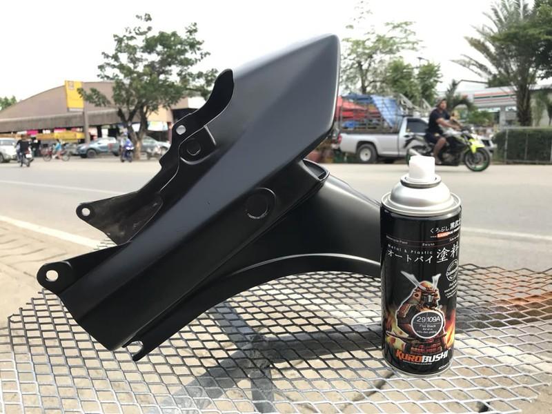 109A _ Chai sơn xịt sơn xe máy Samurai 109A màu đen nhám _ Flat Black _ Shop uy tín, giao hàng nhanh, giá rẻ 9