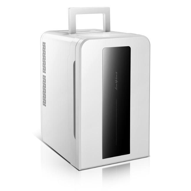 Tủ lạnh mini 22L EuroQuality ô tô và nhà -3 độ 12v 220v Màn hình Led - 5