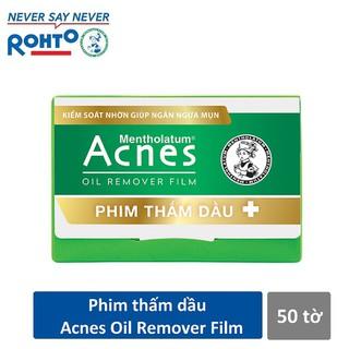 Phim thấm dầu Acnes Oil Remover Film 50 tờ - RMV-A-ORF thumbnail