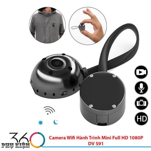 Camera Wifi Hành Trình Mini Full HD 1080P DV S91