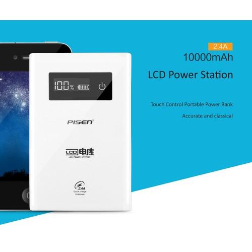 Pin sạc dự phòng LCD Power Station - dung lượng 10000 mAh - TS - D186