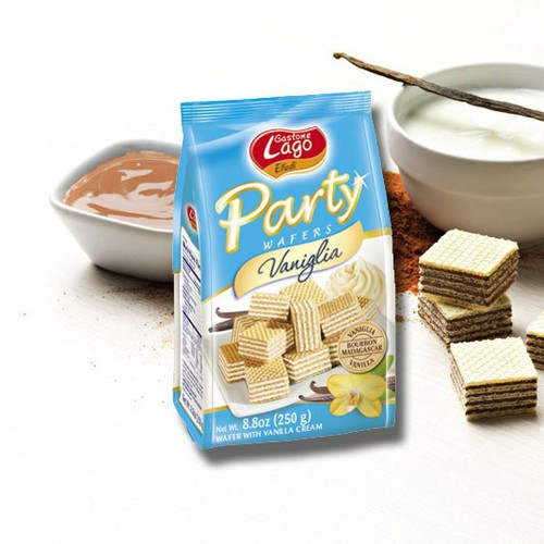 Bánh Xốp Party Vanlglia 250G - Italy