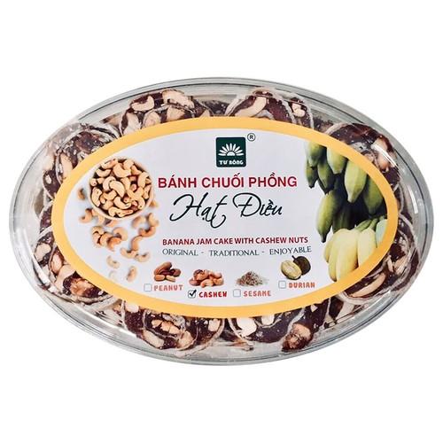 [GUfoods] Bánh chuối phồng hạt điều Tư Bông - Giòn béo 220g - 7215404 , 17068679 , 15_17068679 , 45000 , GUfoods-Banh-chuoi-phong-hat-dieu-Tu-Bong-Gion-beo-220g-15_17068679 , sendo.vn , [GUfoods] Bánh chuối phồng hạt điều Tư Bông - Giòn béo 220g