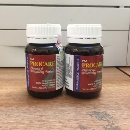PROCARE vitamin tổng hợp cho phụ nữ mang thai