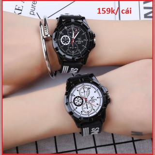 Đồng hồ cặp đôi đẹp - Giá 1 cặp - Đồng hồ cặp đôi 5