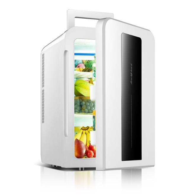 Tủ lạnh mini 22L EuroQuality ô tô và nhà -3 độ 12v 220v Màn hình Led