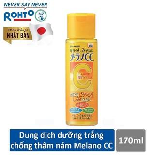Dung dịch dưỡng trắng da chống thâm nám Melano CC Whitening Lotion 170ml - RMV-RJ-MCC-L170 thumbnail