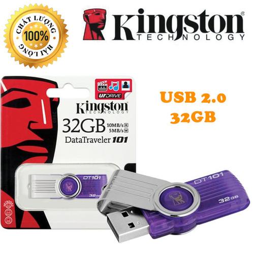 USB Kingston 32GB Cam Kết Chính Hãng - USB 2.0 - Chuẩn Dung Lượng - Tốc Độ Cao
