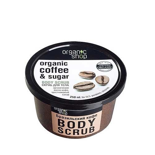 tẩy da chết toàn thân cà phê Organic