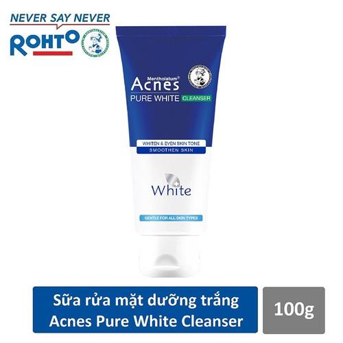 Sữa rửa mặt dưỡng trắng da và ngăn ngừa mụn Acnes Pure White 100g - 4791504 , 17065983 , 15_17065983 , 59000 , Sua-rua-mat-duong-trang-da-va-ngan-ngua-mun-Acnes-Pure-White-100g-15_17065983 , sendo.vn , Sữa rửa mặt dưỡng trắng da và ngăn ngừa mụn Acnes Pure White 100g