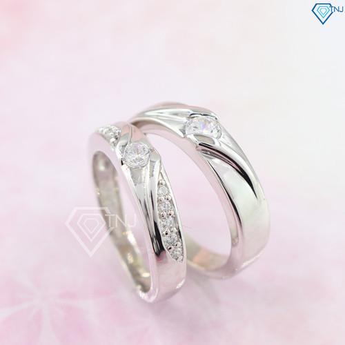 Nhẫn đôi bạc nhẫn cặp bạc đẹp đính đá trắng tinh tế ND0253 - Trang Sức TNJ - 7216037 , 17069184 , 15_17069184 , 530000 , Nhan-doi-bac-nhan-cap-bac-dep-dinh-da-trang-tinh-te-ND0253-Trang-Suc-TNJ-15_17069184 , sendo.vn , Nhẫn đôi bạc nhẫn cặp bạc đẹp đính đá trắng tinh tế ND0253 - Trang Sức TNJ
