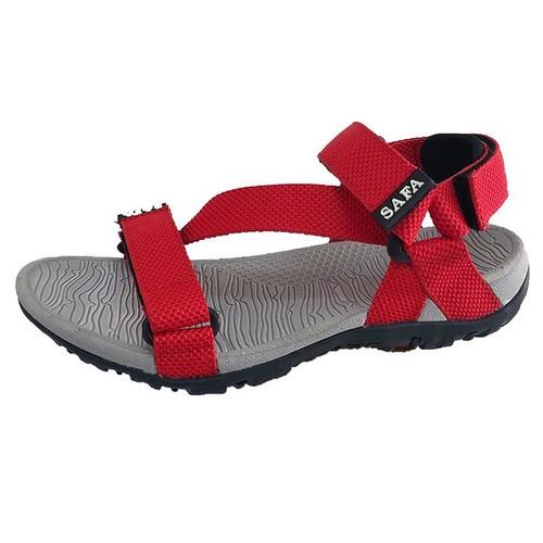 Giày sandal nam Dép Quai Hậu Nam Mạnh Mẽ Trẻ Trung DE65DMC - đỏ