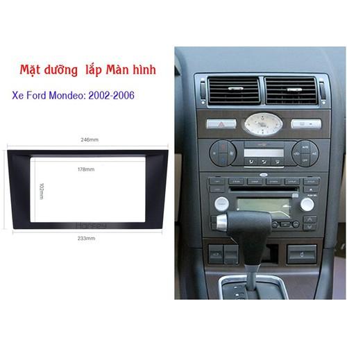 Mặt dưỡng lắp màn hình xe Ford Mondeo 2002-2006 - 7190837 , 17056007 , 15_17056007 , 159000 , Mat-duong-lap-man-hinh-xe-Ford-Mondeo-2002-2006-15_17056007 , sendo.vn , Mặt dưỡng lắp màn hình xe Ford Mondeo 2002-2006