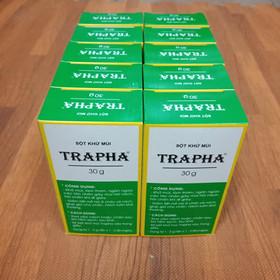 10 lọ bột khử mùi Trapha - 10lọtrapha