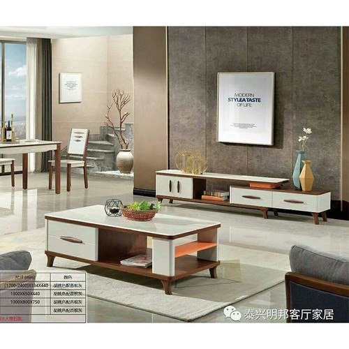 Tủ tivi và bàn sofa nhập khẩu PH-SET9131 cao cấp
