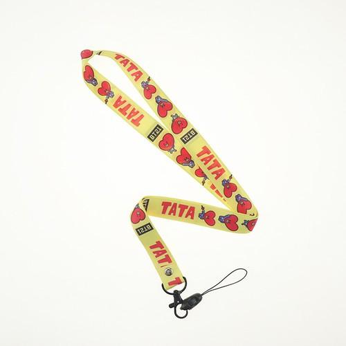 Móc khóa dây đeo TATA V BT21 BTS