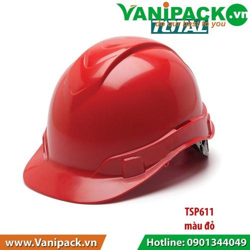 Nón bảo hộ Màu Đỏ Total TSP611