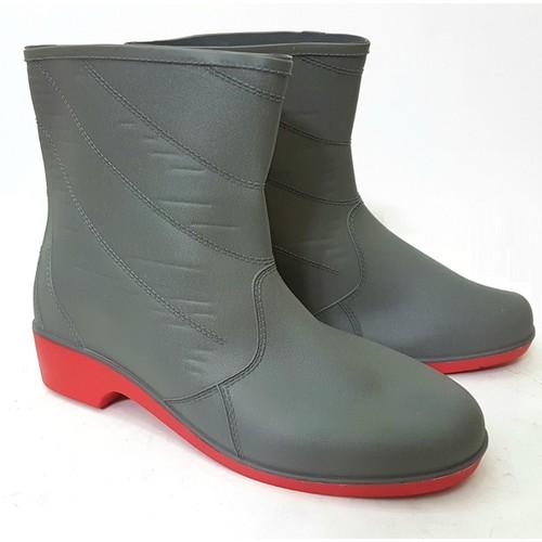 Giày cao su đi mưa 2 lớp loại mới