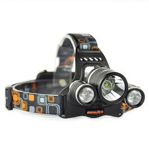 Đèn pin đội đầu siêu sáng3 Bóng - PK114D