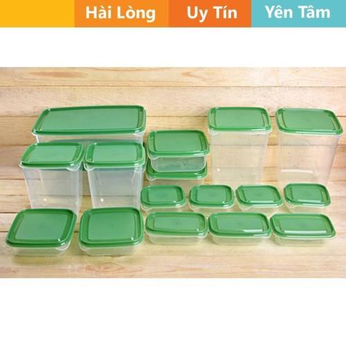 Bộ hộp nhựa 17 món đựng thức ăn trong tủ lạnh - 4791636 , 17066157 , 15_17066157 , 159000 , Bo-hop-nhua-17-mon-dung-thuc-an-trong-tu-lanh-15_17066157 , sendo.vn , Bộ hộp nhựa 17 món đựng thức ăn trong tủ lạnh