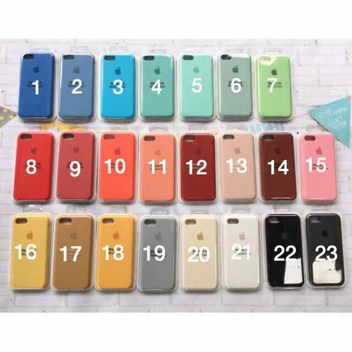 Ốp Apple Silicon Case Iphone Ốp chống bẩn - 7217138 , 17069851 , 15_17069851 , 39000 , Op-Apple-Silicon-Case-Iphone-Op-chong-ban-15_17069851 , sendo.vn , Ốp Apple Silicon Case Iphone Ốp chống bẩn